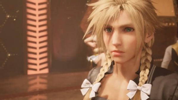《最終幻想7重置版》主題曲預告驚現女裝克勞德