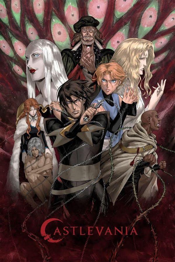 《惡魔城》動畫第三季將于3月5日開播 主視覺圖發布
