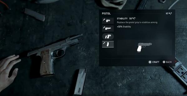 《最后生还者2》枪械改装演示曝光 细节惊人!