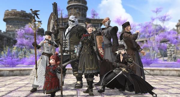 《最终幻想14》公布5.2版本新套装、坐骑等截图