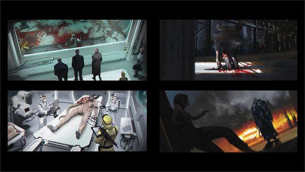 《生化3重制版》最新原畫 揭示復仇女神的誕生