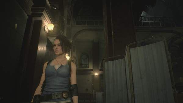 《生化2:重制版》吉爾mod 面部表情存在些小問題