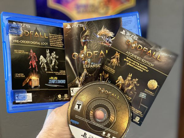 次世代游戏《众神陨落》PS5版包装盒照片公开