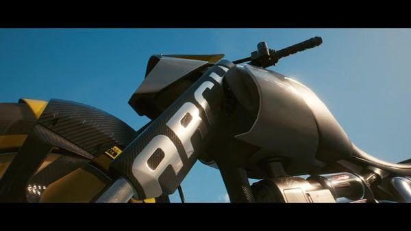 CDPR宣布将推出一款《赛博朋克2077》限定摩托车