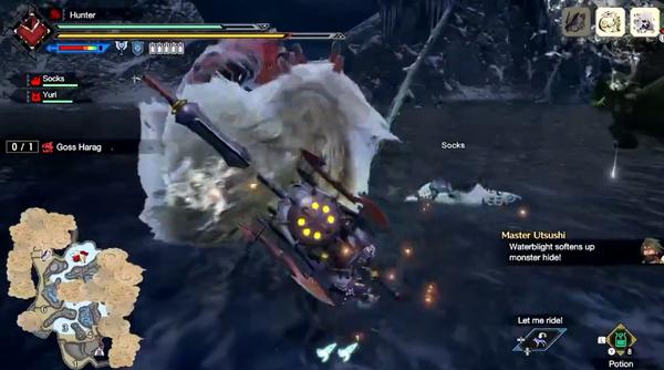 《怪物獵人:崛起》公開最新實機演示 狩獵雪鬼獸