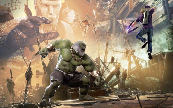 《漫威复仇者联盟》次世代补丁PS5与XSX版本对比