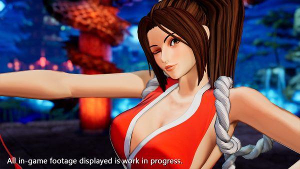 《拳皇15》人氣角色不知火舞角色宣傳影像公開