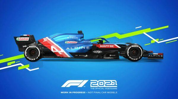 《F1 2021》在Steam商城多個地區發售價格較貴