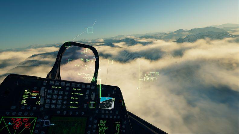 《皇牌空戰7:未知空域》VR評測:沒有什么能比空戰更適合VR的了