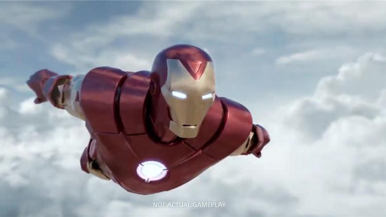 《漫威鋼鐵俠VR》公布 在空中自由翱翔吧