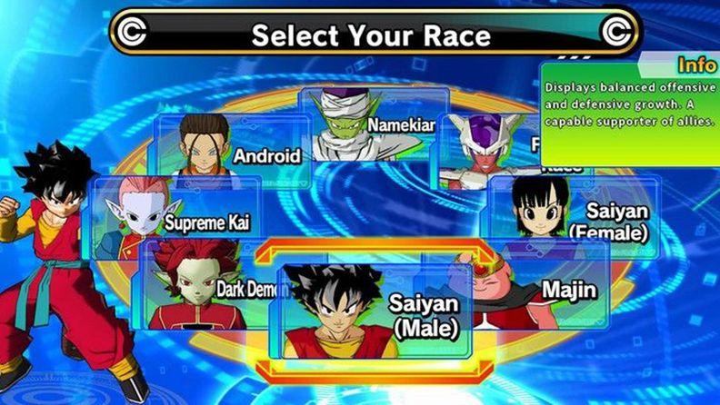 《超龍珠英雄:世界任務》可以選擇哪些種族 種族詳解