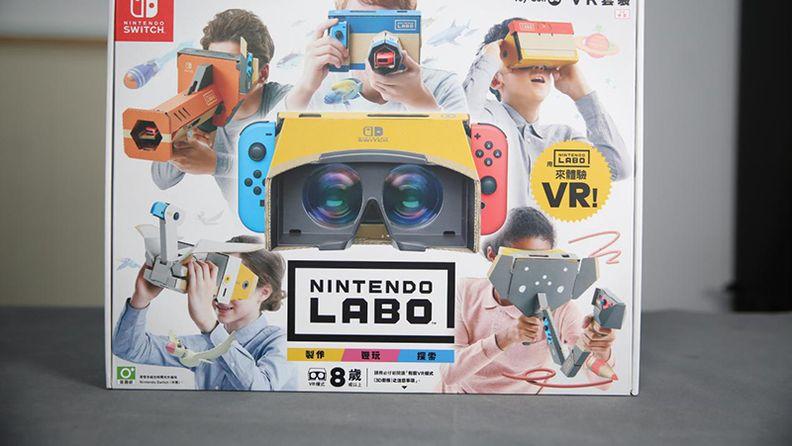 """拼""就對了!任天堂Labo VR巴士有話說!"