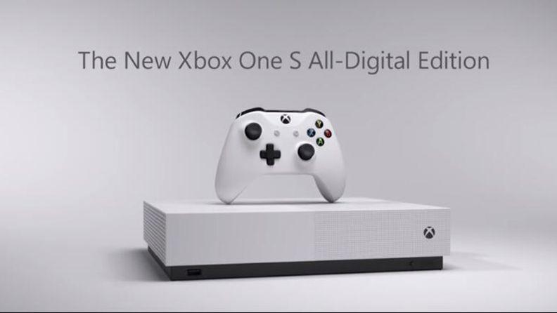 無光驅?Xbox?One?S五月七日發售 定價249美元