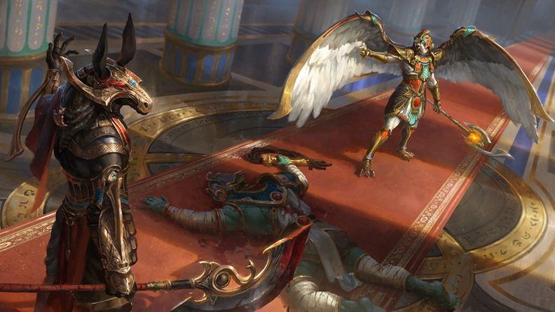《神之浩劫》即將加入埃及神祇荷魯斯與賽特