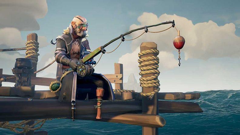 《盜賊之海》公開更新預告 主要展示釣魚功能
