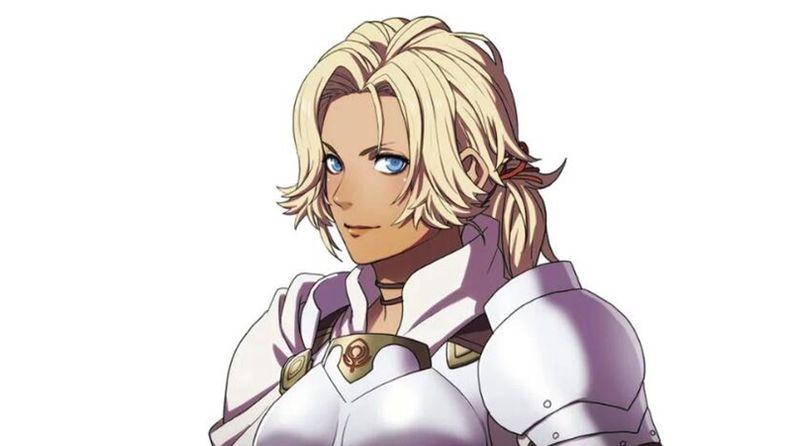 """《火紋:風花月雪》新角色 圣劍女騎士""""凱瑟琳"""""""