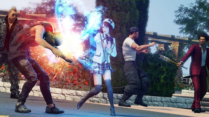 《如龍7》公布最新實機演示 展示四種新職業