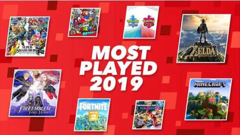 任天堂公布2019年Switch歐洲Top20 《堡壘之夜》登頂