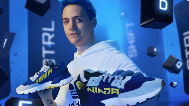 著名主播Ninja與阿迪達斯聯名運動鞋1小時內售罄