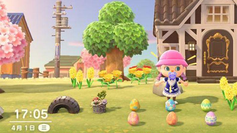 《集合啦!动物森友会》复活节彩蛋一览