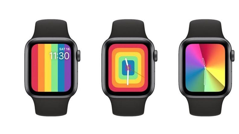 watchOS 6.2.5 開發者測試版Beta 5:更新全新彩虹表盤