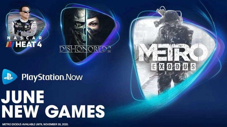 索尼PS Now服務新增《地鐵:逃離》等3款游戲