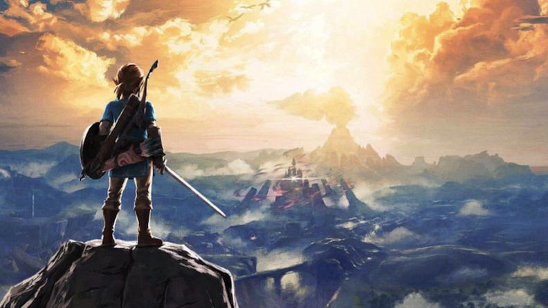美國游戲市場 《曠野之息》進入任天堂歷史前十