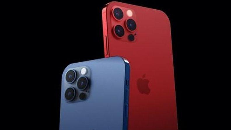 """苹果 iPhone 12 Pro 新配色曝光:""""红蓝 CP""""或将亮相"""