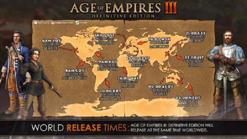 《帝国时代3:决定版》即将发售 现已开启预售