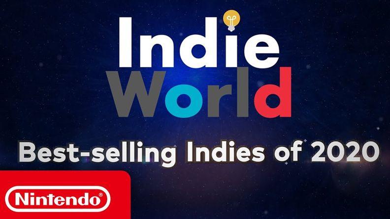 美國任天堂公開2020年暢銷獨立游戲匯總視頻