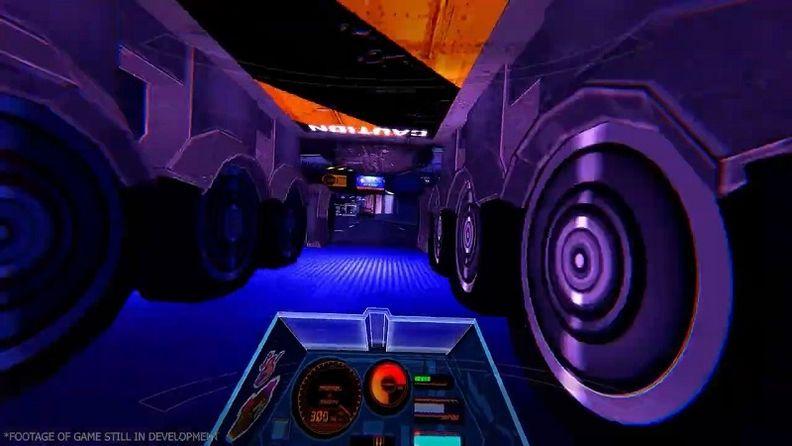 次世代VR游戲《RUNNER》宣傳片 靈感來自動漫