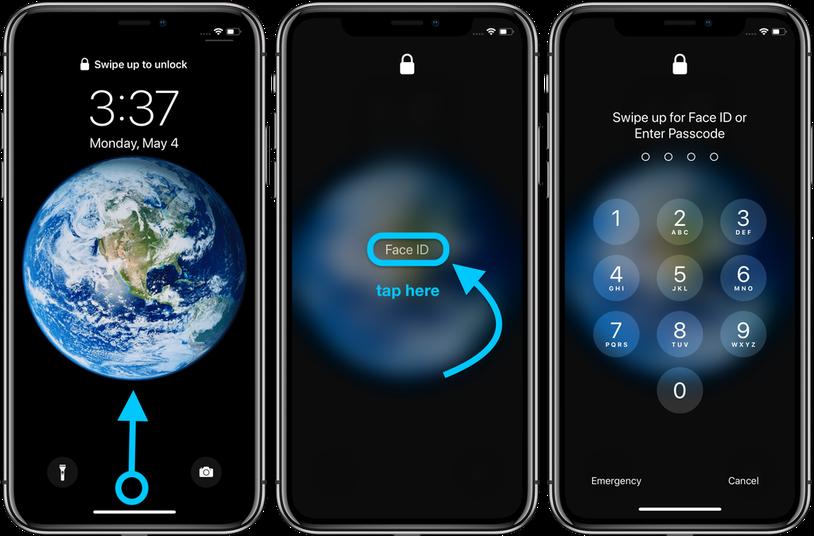 教程:iPhone如何跳過Face ID輸入密碼以及自定義密碼
