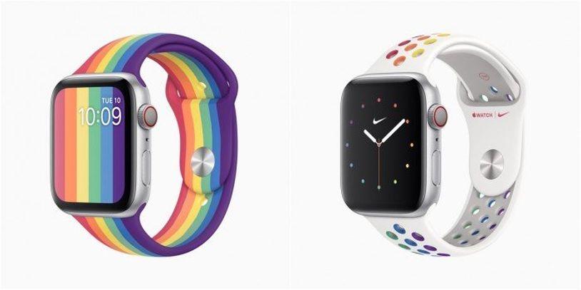 蘋果上架全新 Apple Watch 彩虹表帶 售價379元