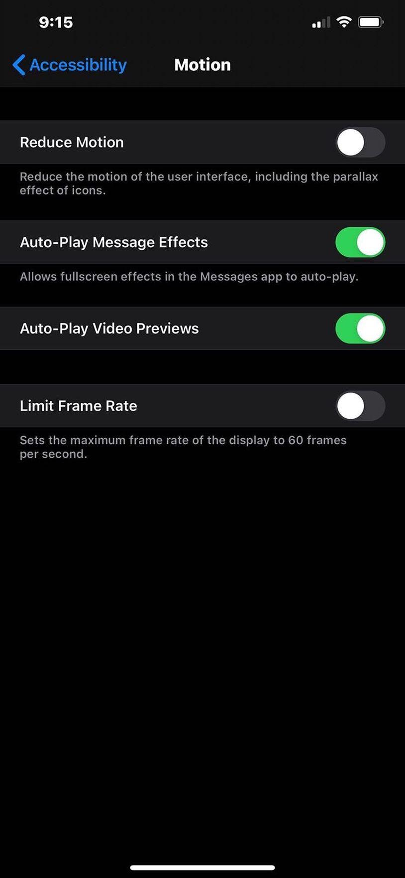 iOS 14動態效果選項或預示新iPhone提供高刷新率