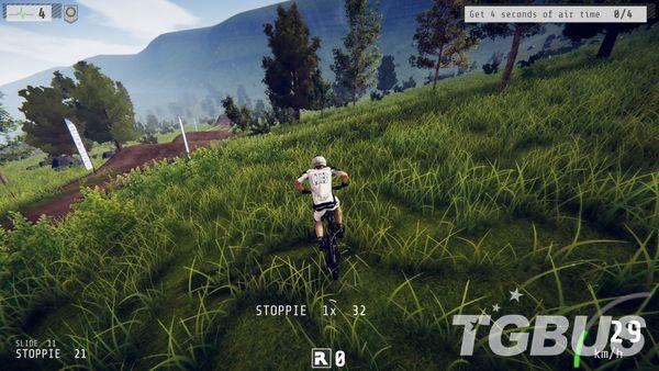 高自由自行車極限競速游戲:《速降王者》PS4版評測