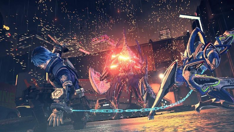 《Astral Chain》首次公开背景设定与战斗系统