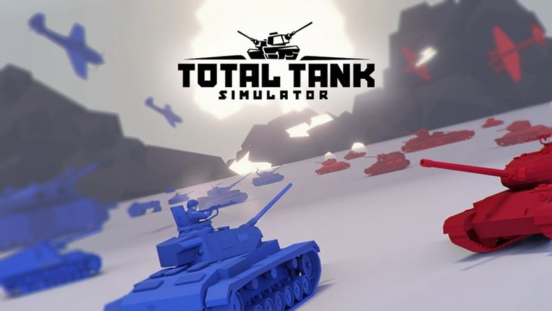 《Total Tank Simulator》今日登陆Steam平台