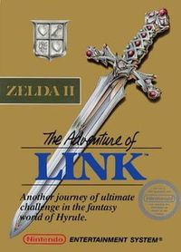塞尔达传说2:林克的冒险 - Zelda II: The Adventure of Link - The Legend of Zelda 2: Link no Bouken