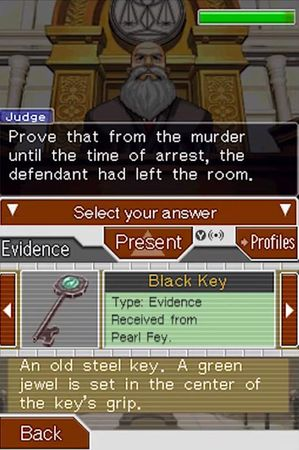 Phoenix Wright: Ace Attorney: Justice for All 截图 9