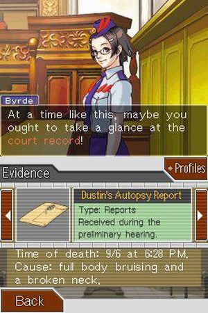 Phoenix Wright: Ace Attorney: Justice for All 截图 5