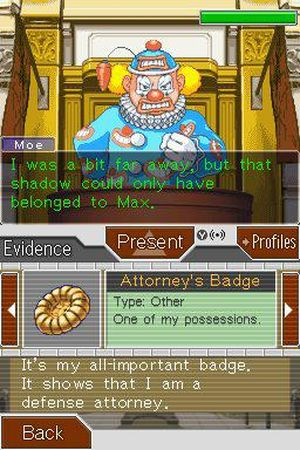 Phoenix Wright: Ace Attorney: Justice for All 截图 7