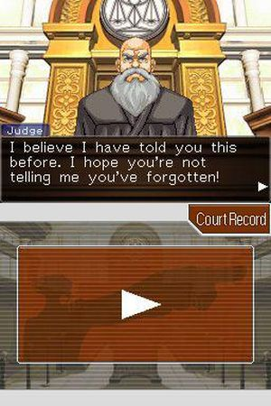 Phoenix Wright: Ace Attorney: Justice for All 截图 2