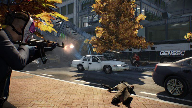 Payday 2: The Armored Transport 截图 4