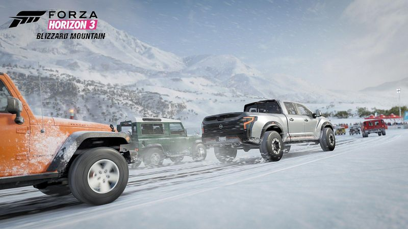 Forza Horizon 3: Blizzard Mountain 截图 1
