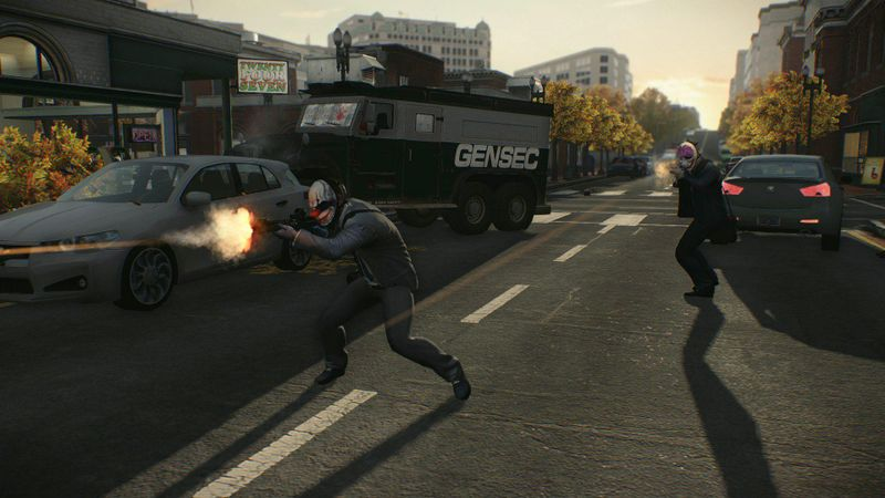 Payday 2: The Armored Transport 截图 5
