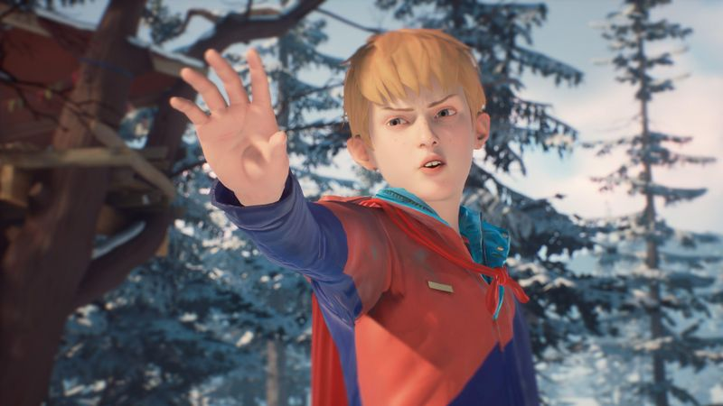 The Awesome Adventures of Captain Spirit 截图 3