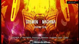 《Daemon X Machina》今年夏季正式登陆Switch